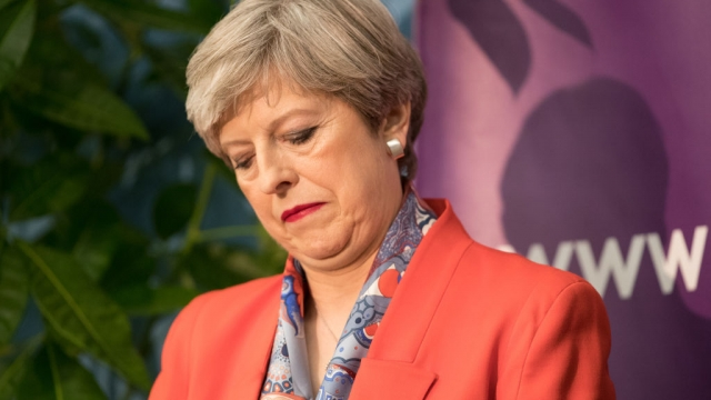 Tough times ahead for Theresa May over Brexit Repeal Bill (Photo by Matt Cardy/Getty)