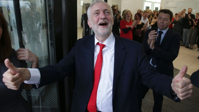 Labour began the campaign 20 points behind in the polls, but went went on to win 40 per cent of the vote. Photo: Getty