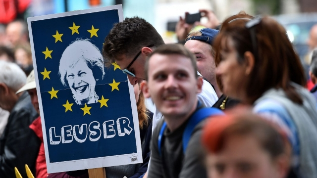 Until recently, the assumption was that Mrs May would be re-elected with a hefty majority, and that the Brexit negotiations could start in earnest. Photo: Getty