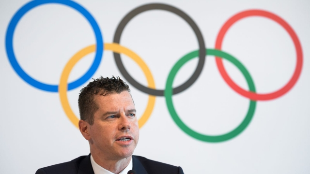 International Olympic Committee (IOC) sports director Kit McConnell at a press conference at the Olympic Museum. The International Olympic Committee on Friday approved a mixed 4x400m relay along with 14 other events for Tokyo 2020. Photo: Getty