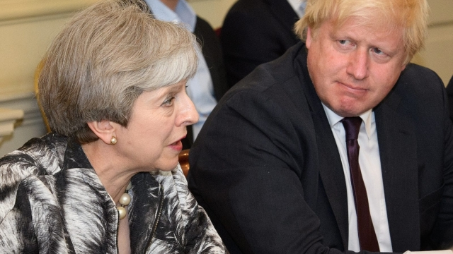 For all their proclamations of loyalty, some Cabinet members could be key players or even contenders in a leadership contest if Mrs May decides to throw in the towel (Photo: Getty)