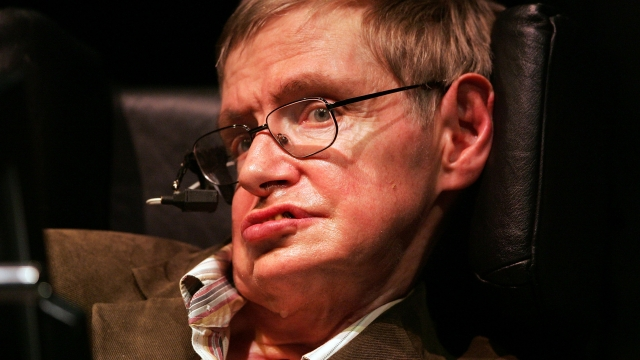 Article thumbnail: Professor Stephen Hawking said he hoped the general public reading his thesis could 'make sense of the cosmos'.