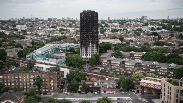 The remains of Grenfell Tower stand as a stark reminder of how the residents' voices were ignored