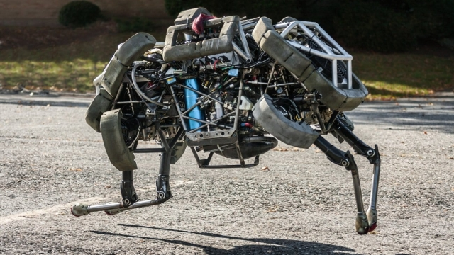 Run away: Boston Dynamics' WildCat robot runs like an animal (Photo: Getty)