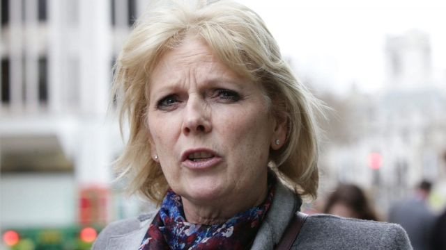 Anna Soubry warned of the rise of a 'blue Momentum' (Photo credit: Yui Mok/PA Wire)