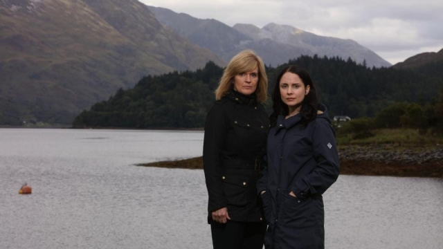 Laura Fraser and Siobhan Finneran star in ITV's crime drama The Loch