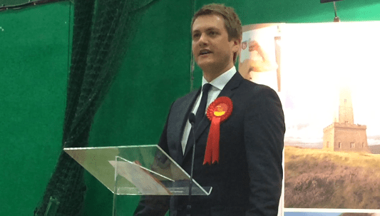 James Frith took the bellwether seat of Bury North for Labour.