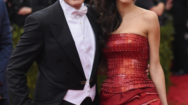 The Clooneys have named their twins Ella and Alexander