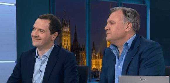 George Osborne and Ed Balls were illuminating and entertaining on ITV's election night coverage