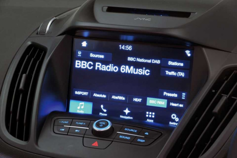 Ford Kuga infotainment