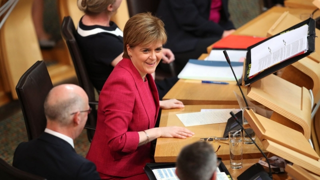 Nicola Sturgeon has said the Scottish Government will refuse to pass the Repeal Bill in its current form (Photo: PA)
