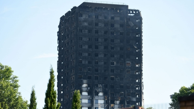 Grenfell Tower was not fitted with a sprinkler system (Photo: PA)