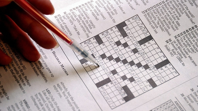 Researchers found that the more regularly participants engaged with word puzzles, the better they performed on tasks assessing attention, reasoning and memory.