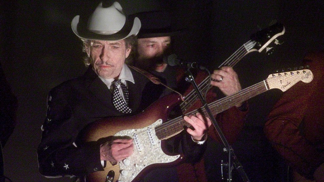 It was Bob Dylan's manager who suggested staging a musical based on his songs