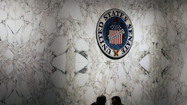 Senators cast their votes on the future of Obamacare