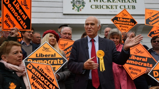 Sir Vince Cable has the biggest majority of any Lib Dem MP (BEN STANSALL/AFP/Getty Images)