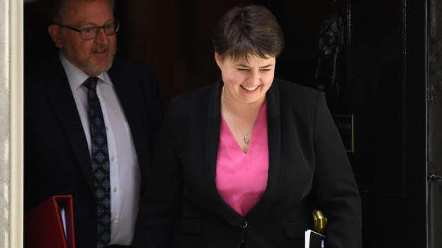 Ruth Davidson suggested Channel 4 should follow the BBC by publishing its pay scales (Photo: Getty)