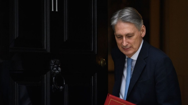 Philip Hammond blamed colleagues trying to divert attention away from his Brexit agenda for briefing against him.