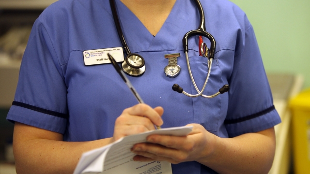 Morale among nursing staff has been hit in recent years by the ongoing pay freeze.
