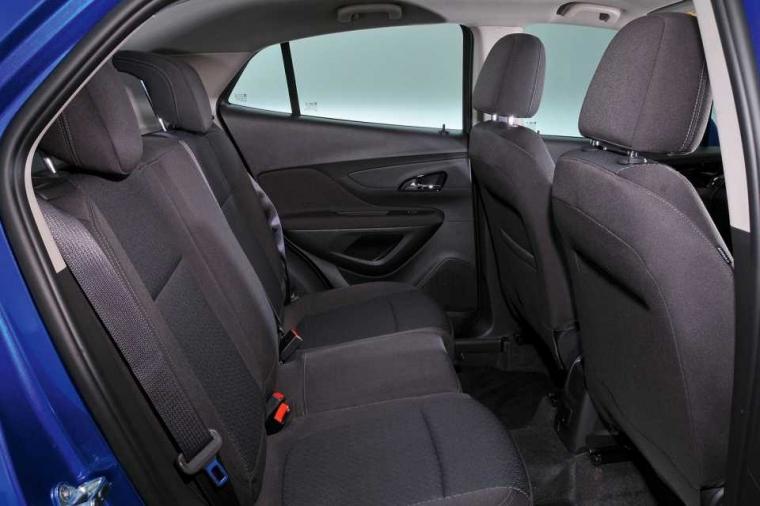 Vauxhall Mokka X rear seats