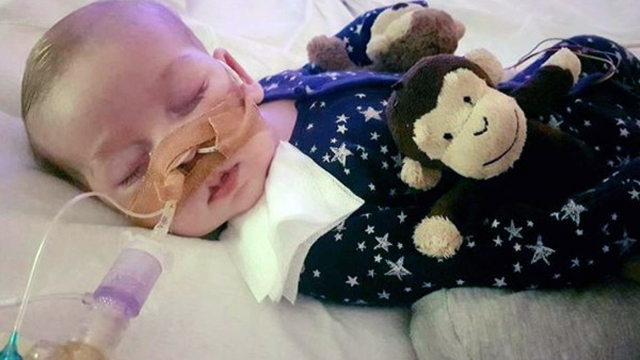 Charlie Gard inherited his rare genetic disease from both his parents.