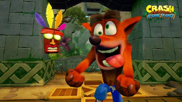 The Crash Bandicoot re-release has proved extremely popular (Photo: Activision)