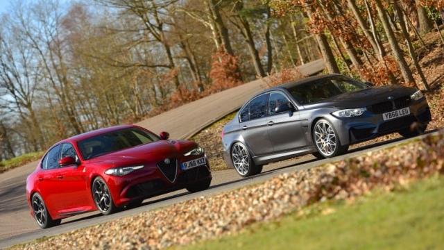 Article thumbnail: Alfa Romeo Giulia Quadrifoglio vs BMW M3