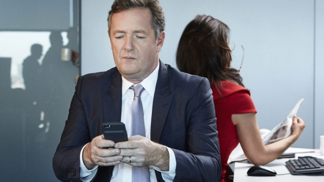 Piers Morgan, who currently presents Good Morning Britain (Photo: ITV)