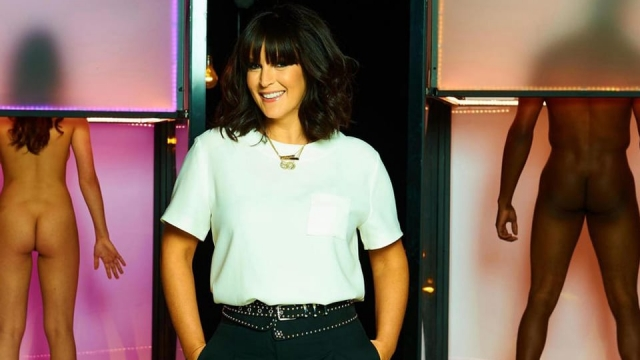 Naked Attraction is presented by Anna Richardson