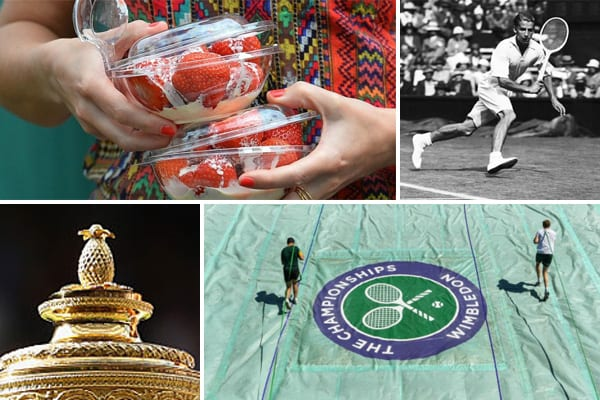From strawberries to pineapples, Wimbledon has its fair share of traditions and trivia