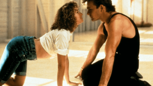 Jennifer Grey and Patrick Swayze in 1987's Dirty Dancing (Photo: Vestron Pictures)