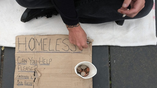 There were around 800 rough sleepers in Scotland last year, the research found (Photo: Getty)