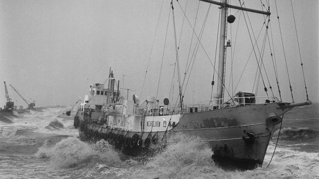 The Shipping Forecast has prevented many ships from suffering the same fate as 'Mi Amigo', the Radio Caroline boat that ran aground in 1966