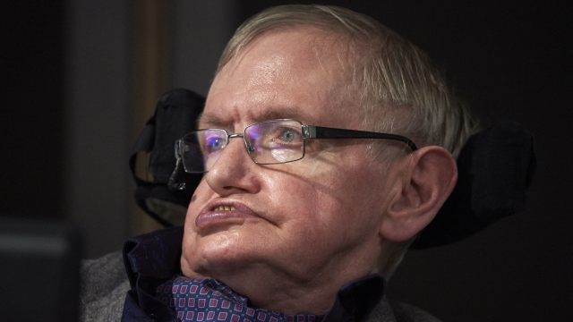 British scientist Stephen Hawking has defended the NHS against what he calls 'creeping privatisation'.