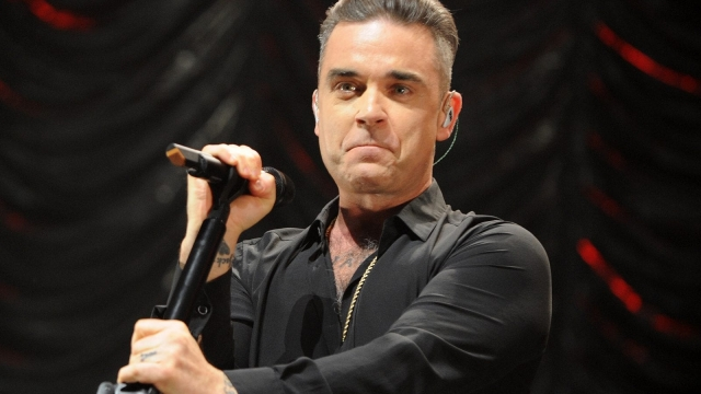 Robbie Williams reportedly blasted loud music by Led Zepplin's rivals during his basement renovation feud (Photo: Shirlaine Forrest/Getty Images)