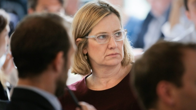 Amber Rudd replied to an email prankster using a separate personal email account. Photo: Getty.