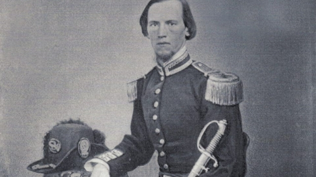 Article thumbnail: Colonel Robert Smith, a son of Edinburgh, fought for the confederacy and became firm friends with Jefferson Davis during the American Civil War