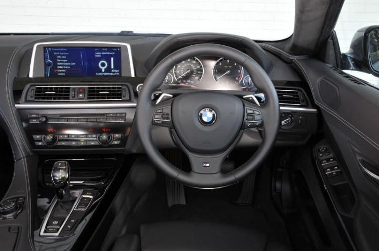 BMW 640d Gran Coupé interior
