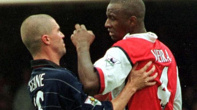 No battle defined the Premier League more than Roy Keane v Patrick Vieira