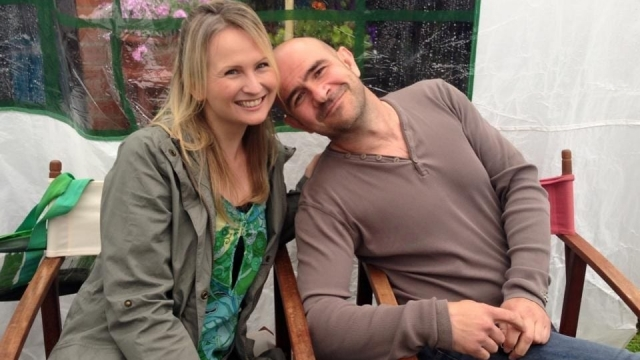 Lucy Nichol and her husband, Chris, whose ADHD can be both a source of frustration and joy in their marriage.