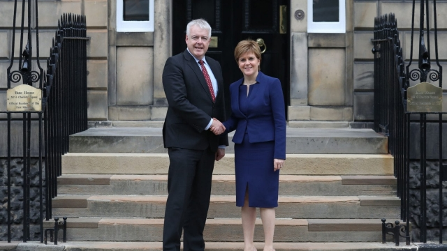 The First Ministers of Scotland and Wales are working together on their response to Brexit (Photo: PA)