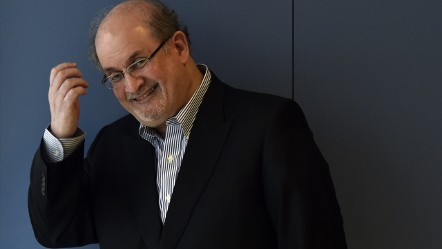 'You have to remember you're writing a novel, not taking a photograph': Salman Rushdie. Photo: Gerard Julien/ AFP/ Getty