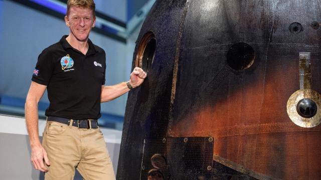 Tim Peake Soyuz