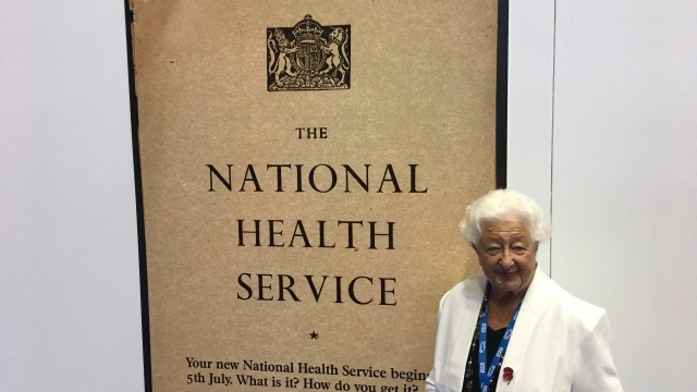 Ethel Armstrong was working for a hospital in Newcastle when the NHS was born on 5 July 1948.