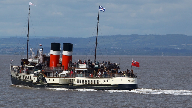 All aboard: The Waverley is the last seagoing passenger-carrying paddle steamer in the world. It's not been smooth sailing for some passengers (Photo: Matt Cardy/Getty Images)