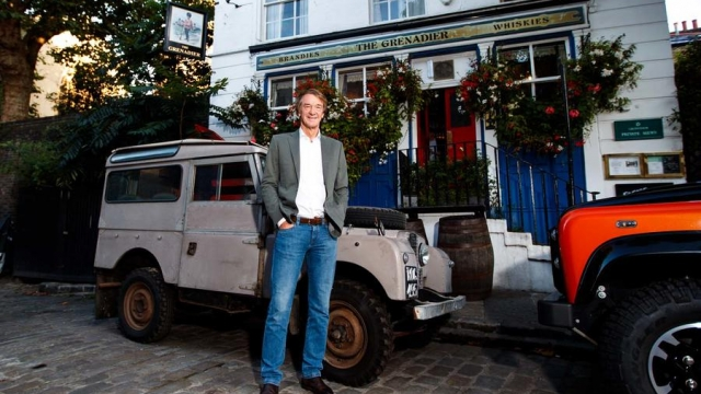 Article thumbnail: Sir Jim Ratcliffe says he wants the Grenadier to be the spiritual successor to the original Land Rover (Photo: Haymarket)