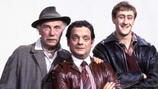 Lennard Pearce, David Jason and Nicholas Lyndhurst all starred in the special episode for an oil company