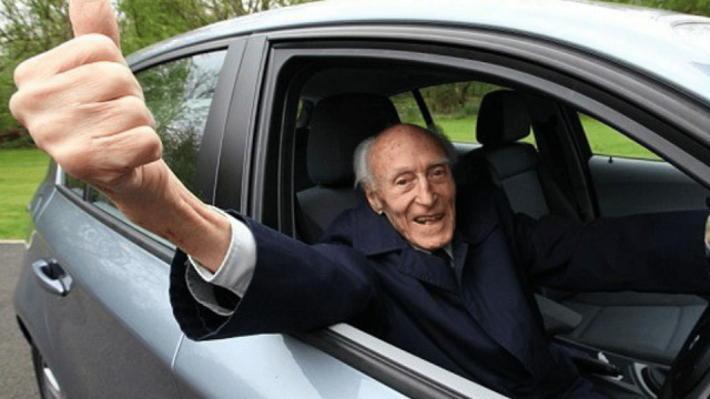 There are more than 200 drivers on the UK's roads aged over 100