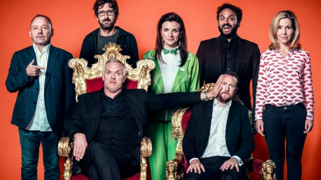 The line-up for Taskmaster's fifth series