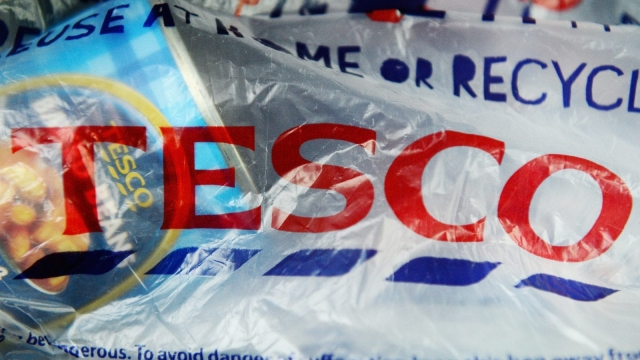 Tesco says it has given £33m to charities from carrier bag sales. (Photo by Jeff J Mitchell/Getty Images)